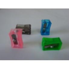 Apontador Faber Plástico C/Glíter ref.25-GLÍZF
