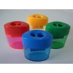 Apontador Cis Plástico C/Coletor C/2 Furos 346-2