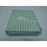 Caderno Kajoma C. Dura 1/4 Costurado Vertical Xadrez Verde 096 fls
