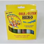 Brilhocola Hero Caixa C/6 Cores 0025 gr